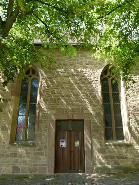 Seiteneingang der Michaelskirche