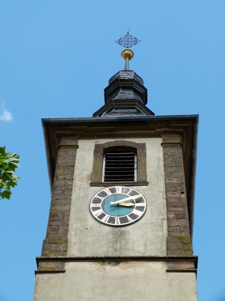 Turm der Michaelskirche Hilsbach