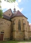 Chor der Michaelskirche (erbaut um 1275)