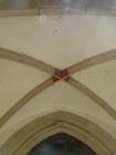 Gewölbe über dem Hauptportal von 1509