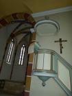 Kanzel der Michaelskirche Hilsbach